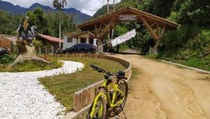 ¡A pedalear! Habilitan la ruta Cañón del Combeima- El Silencio