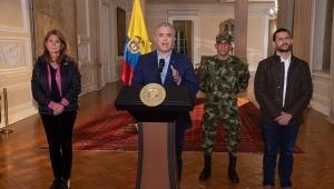 Duque anuncia militarización de ciudades con alteraciones de orden público por las protestas contra la reforma tributaria