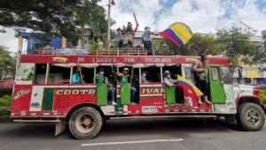 Inició movilización de la Minga Indígena hacia el parque Murillo Toro de Ibagué
