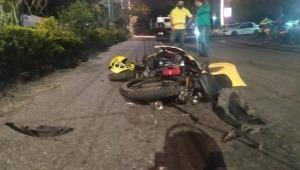 Una persona murió y otra resultó herida en trágico accidente de tránsito en el sector de Mirolindo en Ibagué