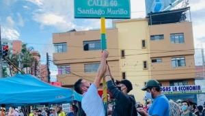 Santiago Murillo: así fue bautizada simbólicamente la carrera Quinta con calle 60 de Ibagué