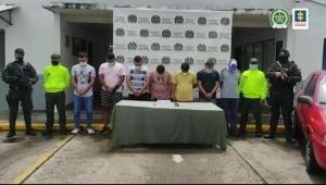 A la cárcel integrantes de 'Los Bamberos', hombres dedicados al hurto de joyas en Cundinamarca y Tolima