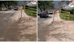 Denuncian contaminación a causa de las labores de construcción en el Parque Deportivo en Ibagué