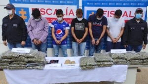 Cayó presunta banda criminal dedicada al expendio de estupefacientes en Ibagué