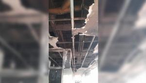 Se presentó un incendio estructural en el comando de Policía de Picaleña