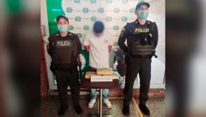 Hombre que ocultaba drogas en su equipaje fue capturado en la Terminal de Transportes de Ibagué