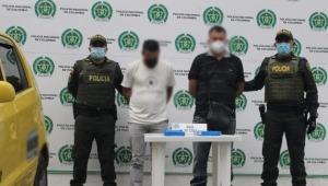 Capturadas dos personas con cuatro kilos de base de cocaína en un taxi en Ibagué