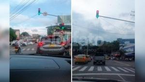 Se adelantó la navidad en Ibagué: semáforos ya presentan problemas de iluminación