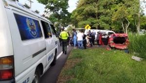 Vehículo oficial de la Gobernación estuvo implicado en accidente en la vía Ibagué-Alvarado