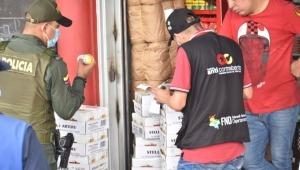 Fueron incautadas 10.500 cervezas de contrabando en una bodega Melgar