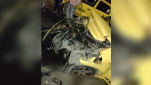 Fuerte accidente en la variante Ibagué-Armenia dejó una persona herida y un vehículo en pérdida total
