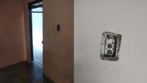 Hasta el inodoro y las puertas se robaron de dos casas que recientemente habían deshabitado en El Espinal