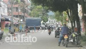 'Capuchos' bloquean movilidad en la carrera Cuarta Estadio de Ibagué