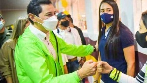Alcalde Hurtado admitió que sí asistió al partido Colombia - Argentina