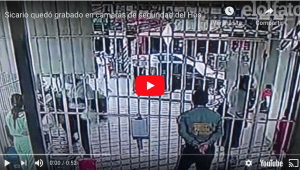 En las cámaras de seguridad del Hospital Federico Lleras Acosta quedó grabado el asesinato de un hombre, identificado como José Rubén Arenas Delgado, de 35 años.