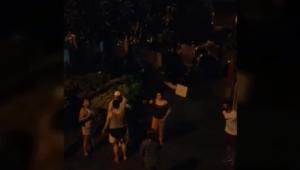 Aparece nuevo video de la familia Monroy con presuntos líos en el barrio Ciudad Luz