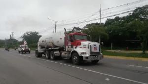 Misión humanitaria logró el transporte de oxígeno a la Clínica Nuestra de Ibagué