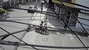 Ladrón en motocicleta tiene 'azotados' a los residentes del barrio Gaitán en Ibagué
