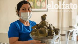 La historia de los tamales vegetarianos en Ibagué y la mujer que hay detrás de su fórmula secreta
