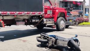 Joven murió por accidente de tránsito en la calle 69 con Guabinal de Ibagué