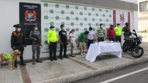Cárcel a presuntos expendedores de marihuana y cocaína en Ibagué