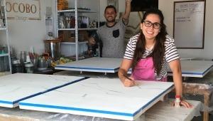Carolina Ortiz: la ibaguereña que lleva su arte en resina alrededor del mundo