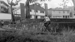 Así lucía el parque Centenario en los años 70
