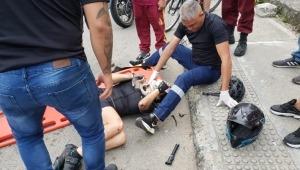 Sentí cuando el camión me pasó por las piernas luego de embestirme: ciclista de Ibagué