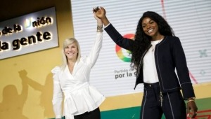 Catherine Ibargüen se lanza al Senado por el partido de la U