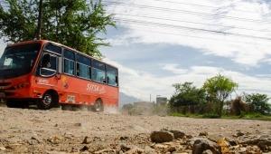 Remolinos de polvo e inundaciones: este es el drama que enfrenta la Ciudadela Comfenalco de Ibagué
