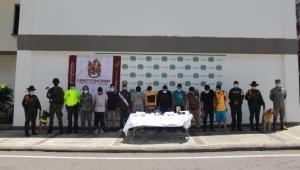 Capturaron a 11 personas por presuntamente utilizar menores para cometer delitos en el sur Ibagué