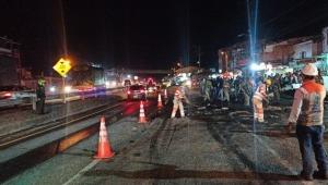 Habilitan la vía Bogotá - Ibagué luego de fuerte accidente protagonizado por un tractocamión