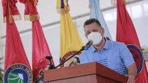 Gobernador Ricardo Orozco dio negativo para COVID-19