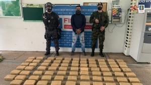 Capturaron a delincuente que camuflaba marihuana entre un cargamento de plátano en el Tolima
