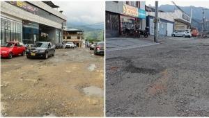Inician trabajos de recuperación de las calles 30 y 31 con Quinta
