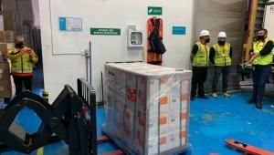 Llegó a Colombia otro millón de dosis de vacunas Sinovac