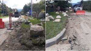 Habitantes del Totumo denuncian invasión de sendero peatonal por parte de la constructora El Pomar