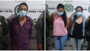 Policía capturó a tres presuntos ladrones en Ibagué