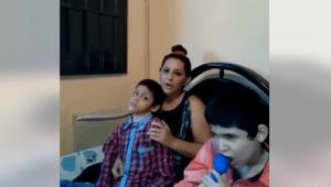Buscan ayuda en Rovira para terapias de dos niños con problemas motrices