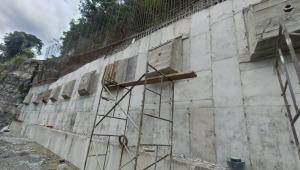 Gobernación del Tolima adiciona más $1.000 millones a construcción de muro de contención en la vía Ibagué - San Luis