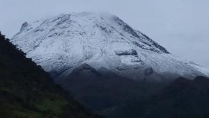 Nevó en grandes cantidades en el Parque Nacional Natural los Nevados