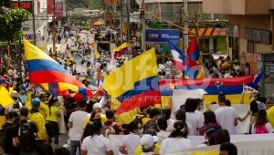 Convocan nueva jornada de movilización en Ibagué