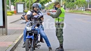 Se extiende la restricción de parrillero en Ibagué y se eliminan otras medidas