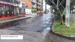 Denuncian mala ejecución en pavimentación de vías en Ibagué