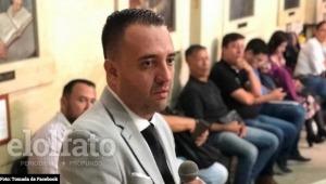Wilson Prada presentó su renuncia al cargo de Personero de Ibagué
