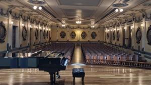 Así quedó la remodelación del Salón Alberto Castilla del Conservatorio del Tolima