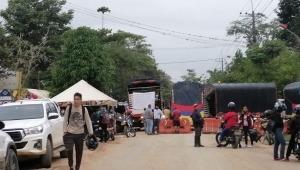 Bloqueo de transportadores deja incomunicados a habitantes del Totumo y Rovira con Ibagué