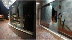 Pequeño grupo de vándalos, ajenos al movimiento social, atacó de nuevo la librería Panamericana a la medianoche del miércoles