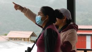 Comunidad de Planadas recibe talleres sobre el avistamiento de aves