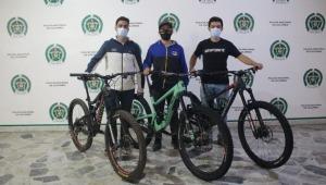 Policía de Ibagué recuperó bicicletas robadas a tres deportistas de élite del Eje Cafetero